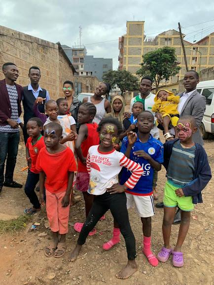 RNA'S Engineer(s), Frankline Nduga Doing CSR, Kibera Slums